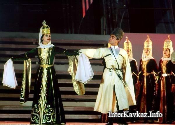 Народы северного кавказа костюмы