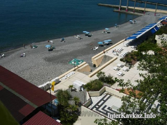 Санаторий актер пляж фото